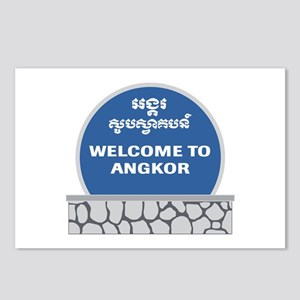 Welcome to Angkor Wat, Ca Postcards (Package of 8)