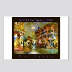 Moon Over New Orleans Postcards (Package of 8)