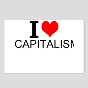 I Love Capitalism Postcards (Package of 8)