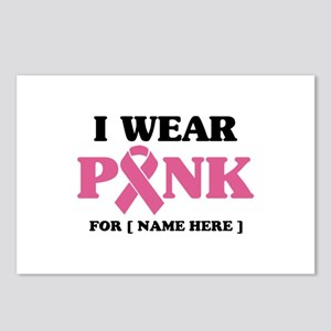 Breast Cancer Cause Postcards (Package of 8)