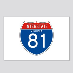 Interstate 81 - VA Postcards (Package of 8)