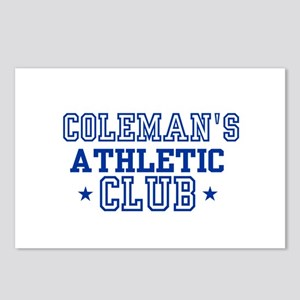 Coleman Postcards (Package of 8)