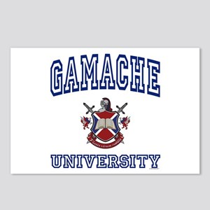 GAMACHE University Postcards (Package of 8)