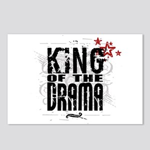 King of the Drama Postcards (Package of 8)