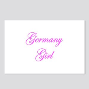 Germany Girl Postcards (Package of 8)