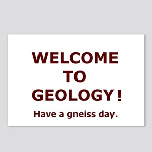 Geology Welcome 4 Postcards (Package of 8)