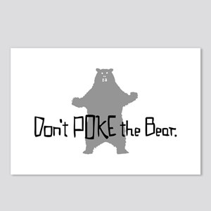 Don't Poke The Bear Postcards (Package of 8)