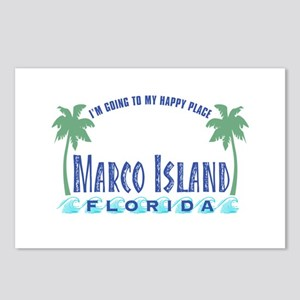 Marco Island Happy Place - Postcards (Package of 8