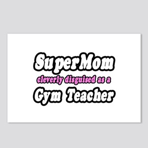 """Super Mom..Gym Teacher"" Postcards (Package of 8)"