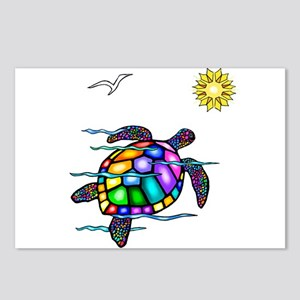 Sea Turtle #1 Postcards (Package of 8)