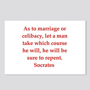 Wisdom of Socrates Postcards (Package of 8)