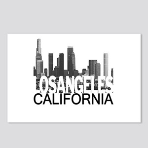Los Angeles Skyline Postcards (Package of 8)