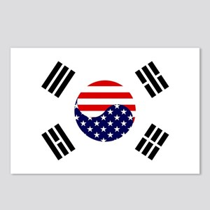 Korean-American Flag Postcards (Package of 8)
