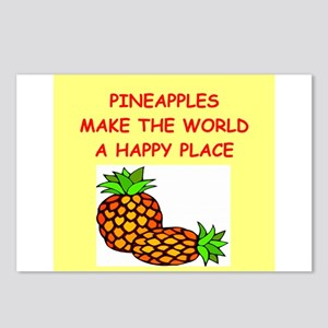 pineapples Postcards (Package of 8)