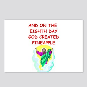 pineapple Postcards (Package of 8)