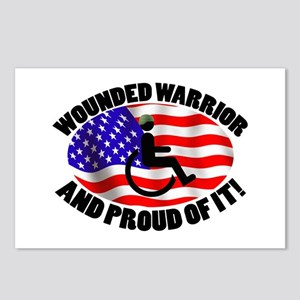 Proud Wounded Warrior Postcards (Package of 8)