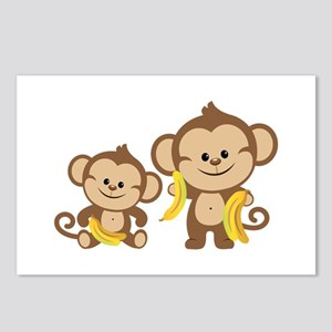 Little Monkeys Postcards (Package of 8)