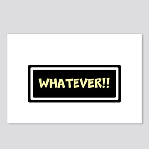 WHATEVER!! Postcards (Package of 8)