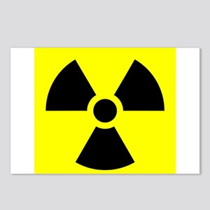 Radiation Warning Postcards (Package of 8)