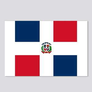 Flag of the Dominican Republic Postcards (Package