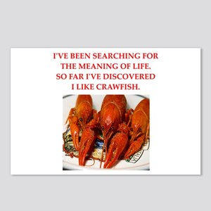 crawfish Postcards (Package of 8)