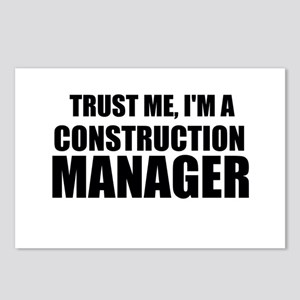 Trust Me, I'm A Construction Manager Postcards (Pa