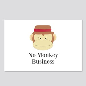No Monkey Business Postcards (Package of 8)