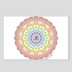 Namaste Mandala Postcards (Package of 8)