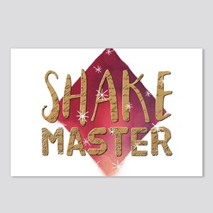 Shake Master Postcards (Package of 8)