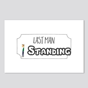 Last Man Standing Postcards (Package of 8)