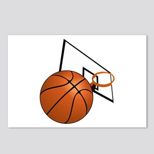 Basketball and Hoop Postcards (Package of 8)