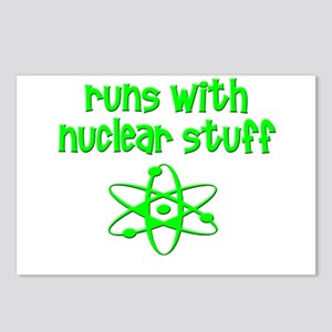 funny nuclear engineer sc Postcards (Package of 8)