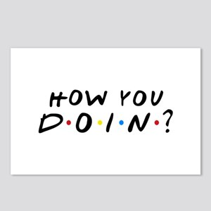How You Doin? Postcards (Package of 8)