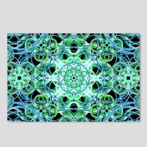 Ethereal Growth Mandala Postcards (Package of 8)