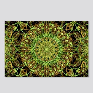 Forest Star Mandala Postcards (Package of 8)