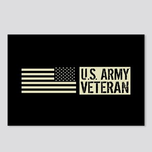 U.S. Army: Veteran (Black Postcards (Package of 8)