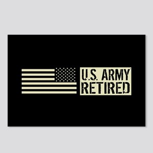 U.S. Army: Retired (Black Postcards (Package of 8)