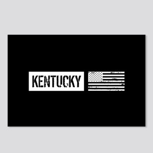 U.S. Flag: Kentucky Postcards (Package of 8)