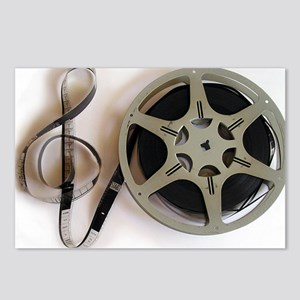 Clef and Film Reel by Les Postcards (Package of 8)
