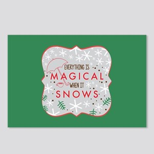 Magical When It Snows FB Postcards (Package of 8)