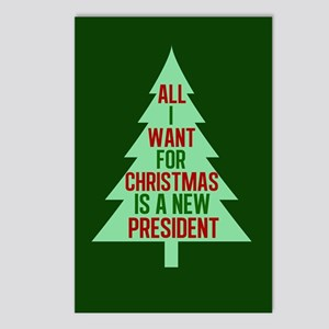 Anti Trump Christmas Postcards (Package of 8)