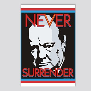 Never Surrender Postcards (Package of 8)
