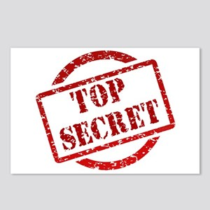 Top secret Postcards (Package of 8)