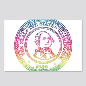 Vintage Washington Rainbow Postcards (Package of 8