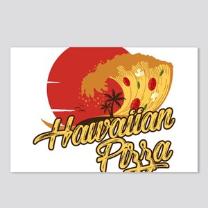 Hawaiian Pizza - Funny Be Postcards (Package of 8)