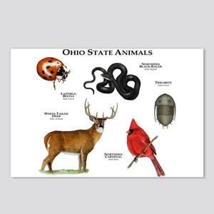Ohio State Animals Postcards (Package of 8)