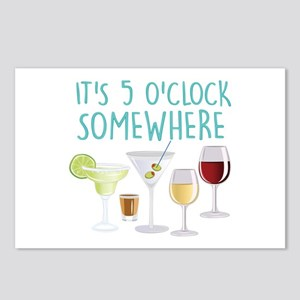 5 O Clock Somewhere Postcards (Package of 8)