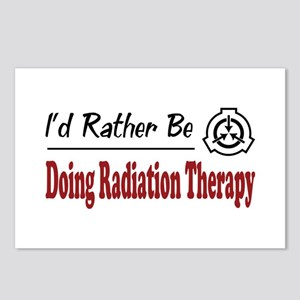 Rather Be Doing Radiation Therapy Postcards (Packa
