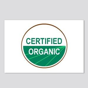 CERTIFIED ORGANIC Postcards (Package of 8)