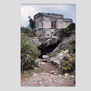 Mayan Building, Tulum, Me Postcards (Package of 8)